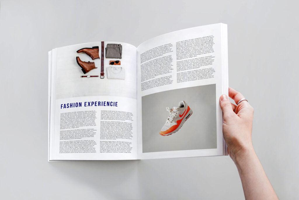 Mockup Revista