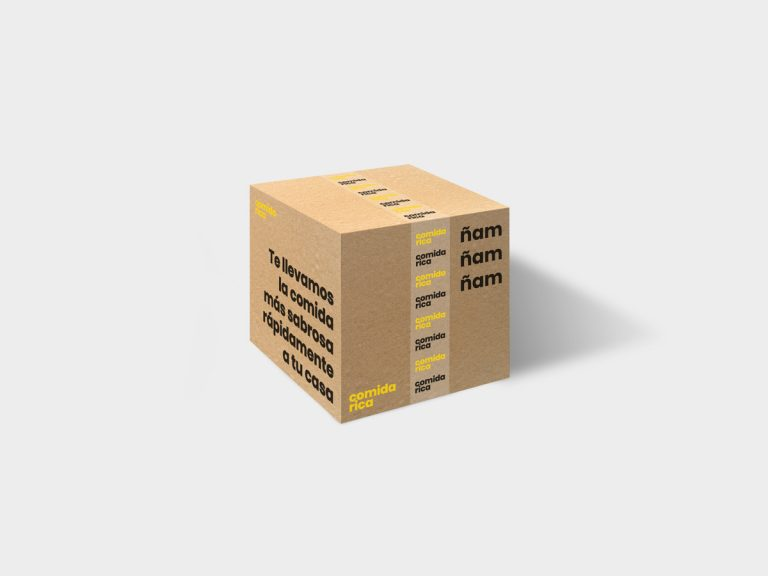 Mockup Packaging Caja