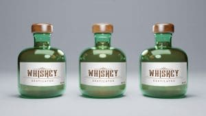 Mockup Botellas De Whisky