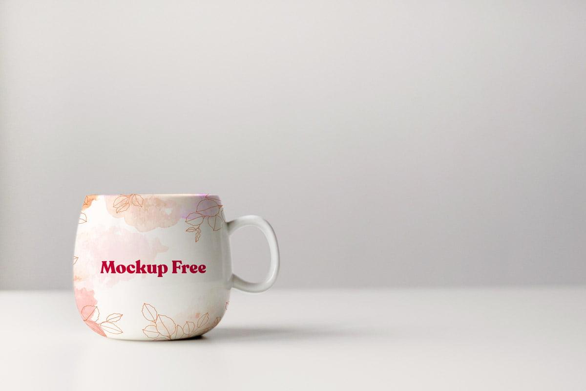 Mockup Taza Con Diseño